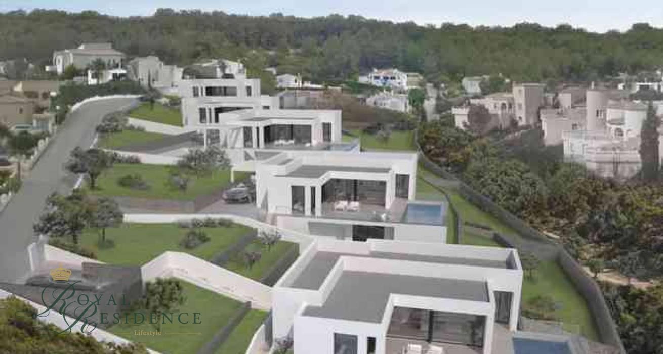 Villa under construction in Benitachell